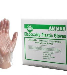 poly gloves - Ammex
