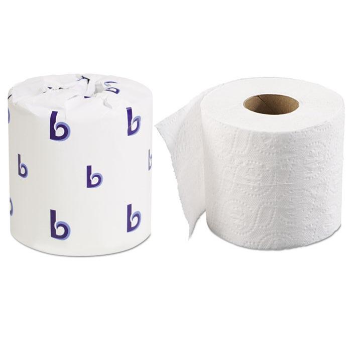 Standard Roll 2 Ply Toilet Tissue 500 96 Per Case