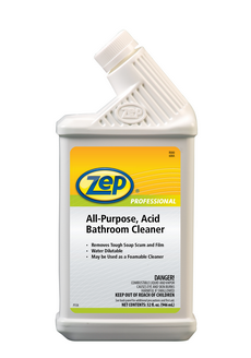 Zep All Purpose Acid Bathroom Cleaner 32 Oz Ea 12 Carton Encompass Supply