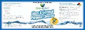GenEon Glass Cleaner Label