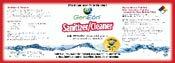 GenEon Sanitizer Cleaner Label